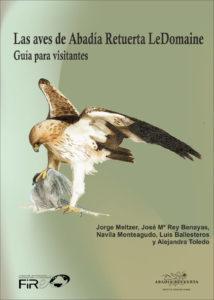 Portada de la publicación Las aves de Abadía Retuerta-Guía para visitantes